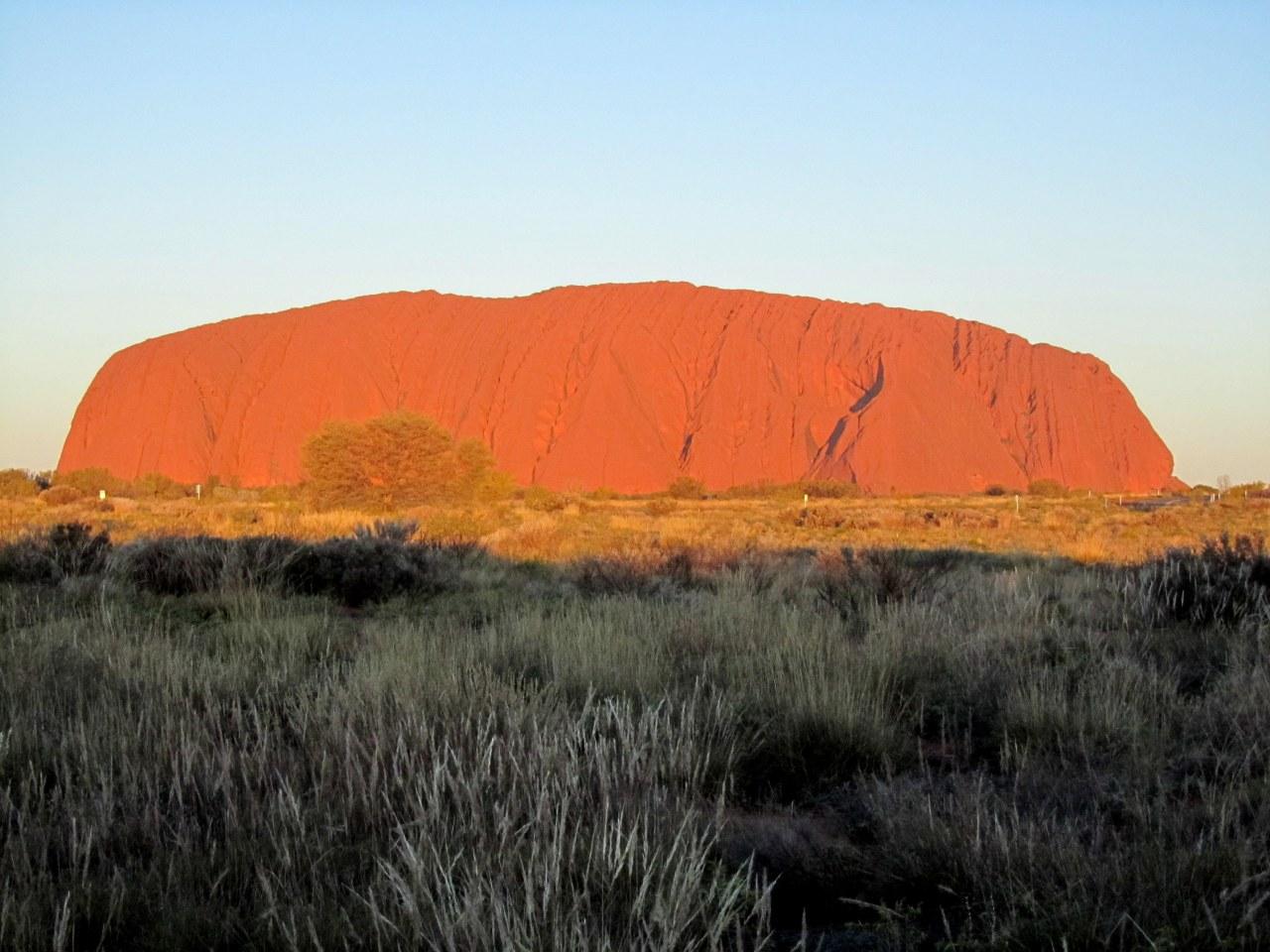Shades of Uluru