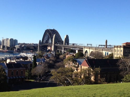 Harbour Bridge from Observatory