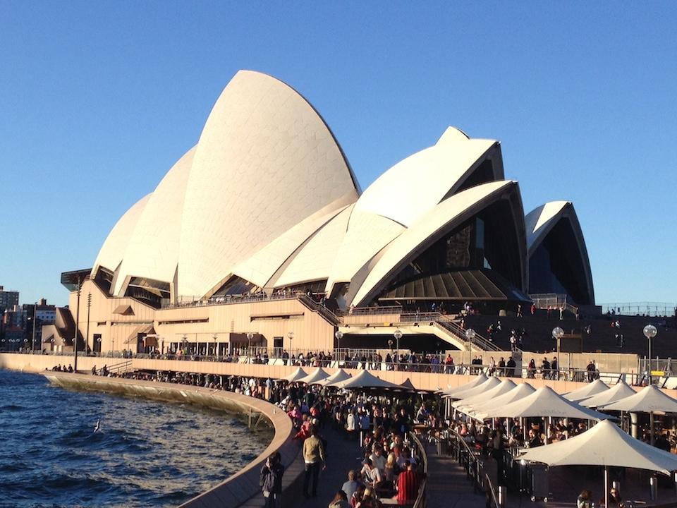 Strutting Sydney