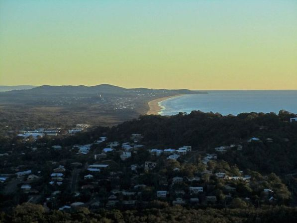 View from Mt. Coolum .