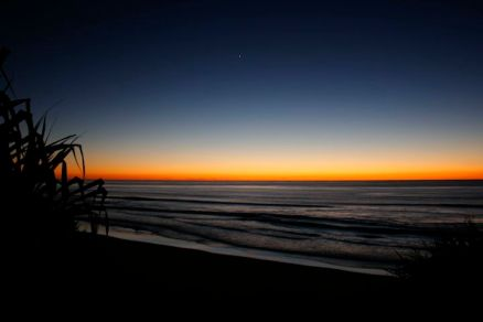 Sunrise from Coolum Beach.
