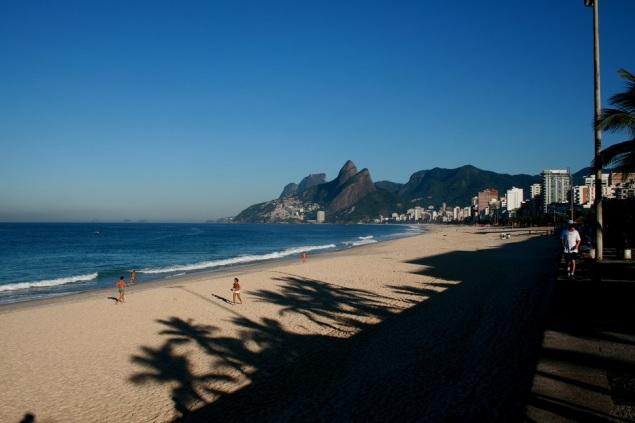 Morning, Ipanema Beach