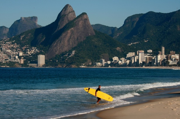 Surfer, Ipanema Beach