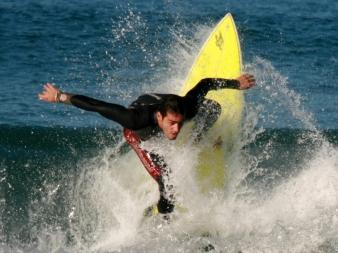 Surfer, Ipanema Beach