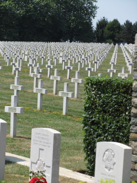 French cemetery, Vimy Ridge