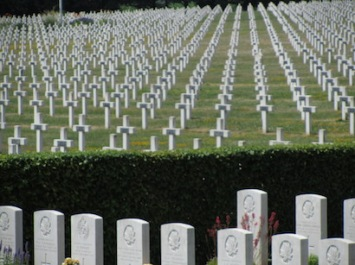 French and Canadian cemeteries, Vimy Ridge