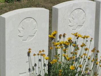 WW1 headstones, nothern France