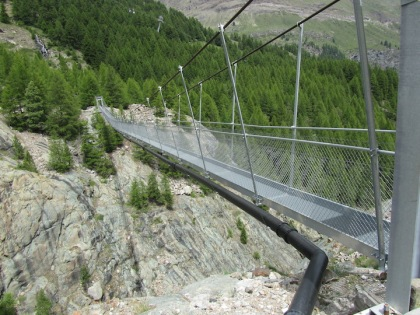 Zermatt footbridge