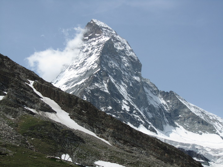 Zermatt: All downhill