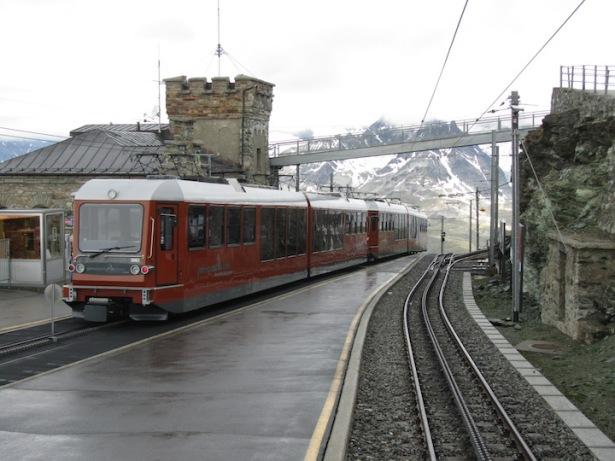 Gornergrat rail line