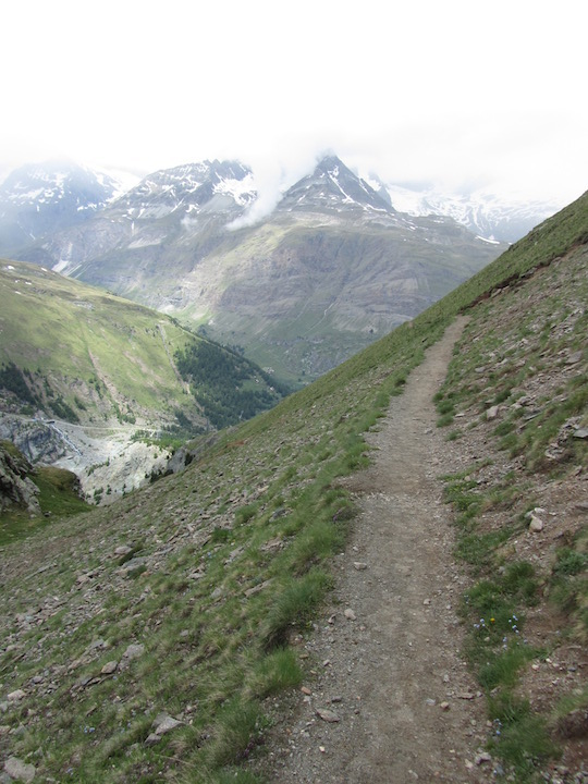 Trail from Gornergrat