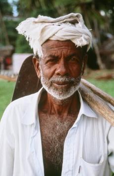 Goan farmer