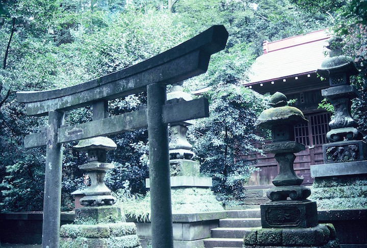 Remote Shinto shrine