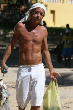 Morro fisherman