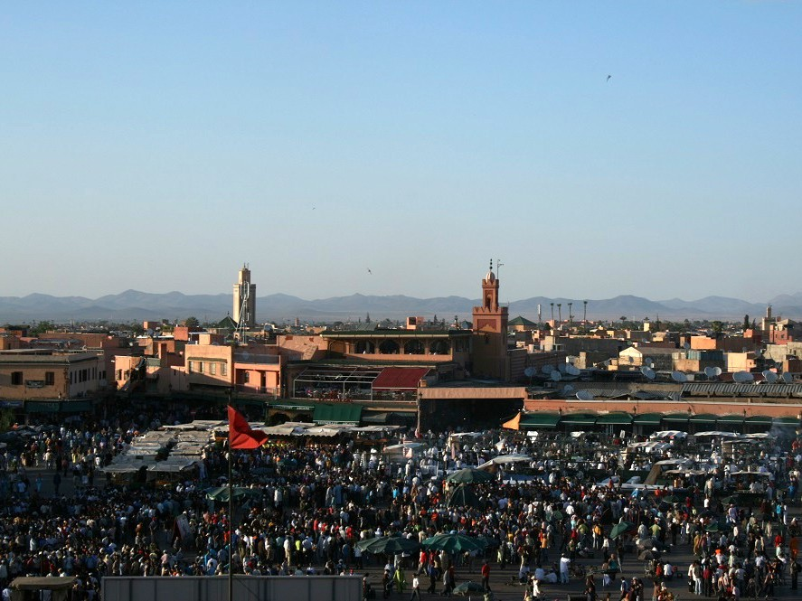 Mixed about Marrakesh