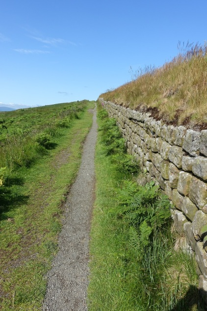 Footpath along Hadrian's Wall