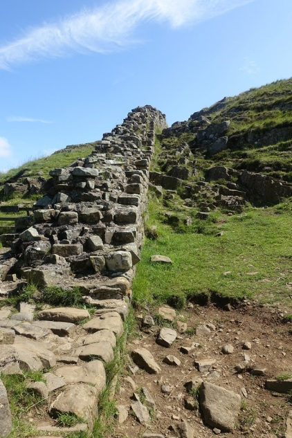 Hadrian's Wall near Steel Rigg